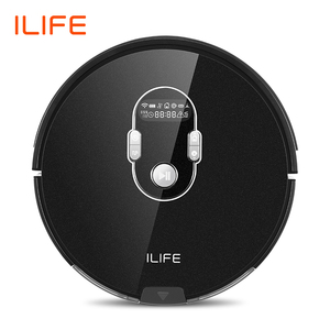 ILIFE A7 Robot Cleaner Vacuum Smart APP Remote Control for Hard Floor and Thin Carpet Automatic Recharge Slim Body(China)