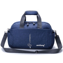 Fashion Nylon Travel Bag Men Waterproof Large Sport Luggage Handbag Women Leisure Fitness Weekend Duffle Crossbody Tote Bag S033 цена