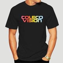 Coleco retro jogo de vídeo coleco visão logotipo 1980 arcada velha escola t Shirt-4221D