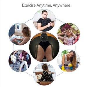 Image 4 - EMS جهاز تدريب العضلات البطن محفز ABS الكهربائي اللياقة البدنية مدلك البطن فقدان الوزن التخسيس معدات رياضية للمنزل