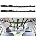 2 pièces porte canne à pêche de voiture en Nylon Durable réglable de haute qualité sangle de transporteur de pansement pour outil de pêche de voyage de véhicule Tige Racks     -