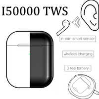 Original i50000 Tws noir mat Super copie 1:1 Air 2 1536U puce H1 W1 Bluetooth écouteurs support ios13 pk i200 i1000 i9000 TWS