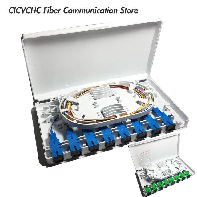 5 pièces 8 ports pour adaptateur SC/LC/ST boîtier à fibers pour FTTH