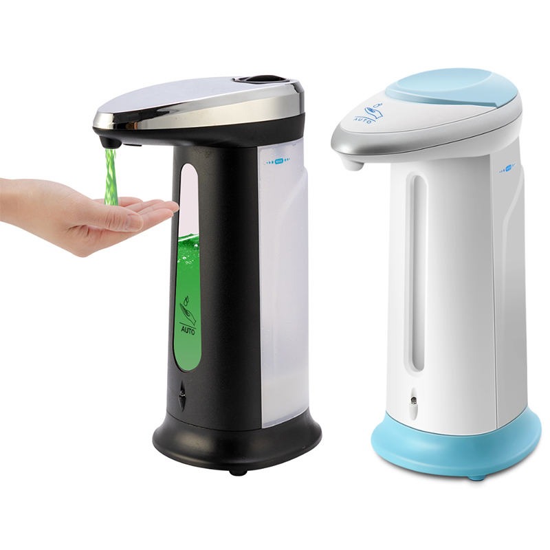 400ml Automatic Liquid Soap Dispenser Shampoo Dispenser Smart Sensor Touchless Dispenser For Kitchen Bathroom Accessories Set
