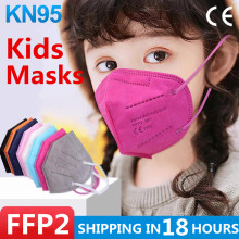 5-100Pcs FFP2 KN95 Masks for Children kn95mask Kids ffp2mask Child Ce Masque Children's Face Mouth Mask fpp2 kn95 mascarillas