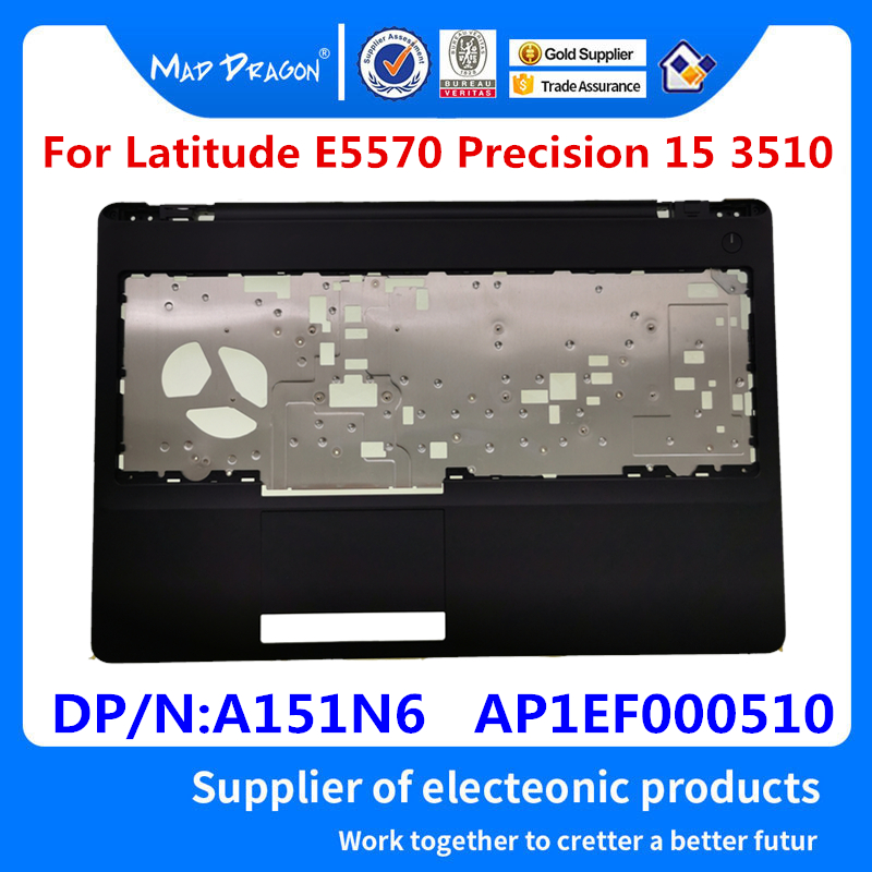 new original Laptop Replacement Palmrest Upper Cover Case C shell For <font><b>Dell</b></font> Latitude E5570 Precision 15 <font><b>3510</b></font> A151N6 AP1EF000510 image