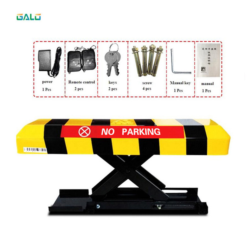 Reserved Automatic (Remote Controlled) Parking Lock & Parking Barrier - Long Rocker - Parking Locks & Barriers