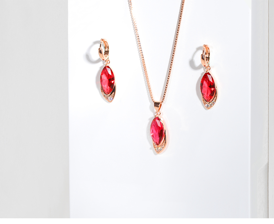 Heb20ad8d2a85426993e6440b929174f5U Exquisite Ruby Necklaces With Pendant for Women