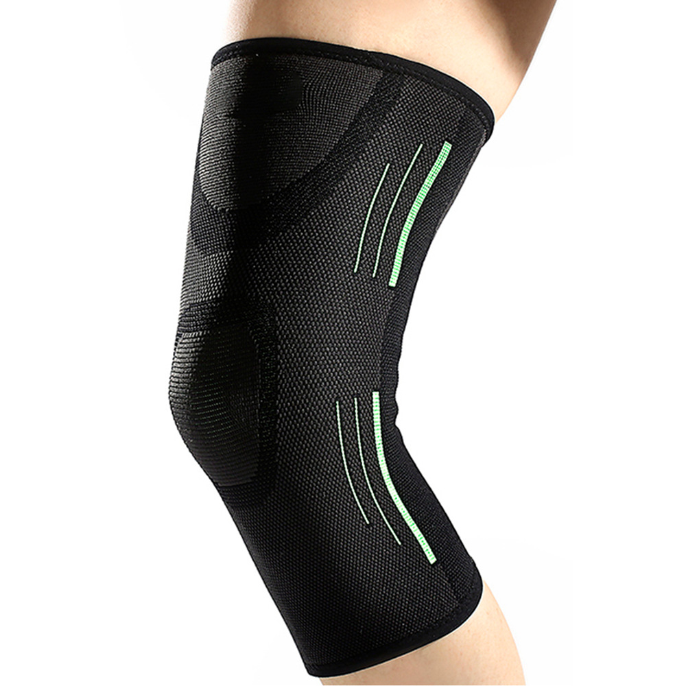 Breathable All Sided Bullet Silica Gel Ultra-thin Kneepad Outdoor Fitness Running Sports Basketball 1 PCS Unisex