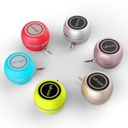 Portátil mini com fio alto-falantes graves chifres para computador portátil desktop telefone poderoso alto-falante 3.5mm jack áudio multimídia altifalante