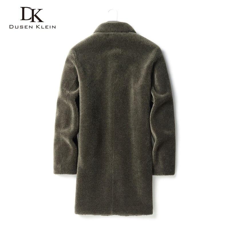 Wool Winter Men Woolen Jackets Casual Warm Coat 2020 New Long Z9809