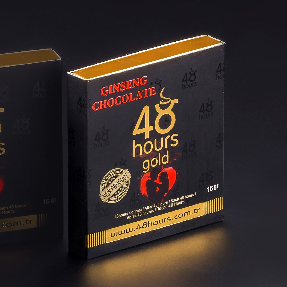 Aphrodisiac Chocolate Ginseng Epimedium Herbal Performance Redound To Sex Toys Plant Roots Retardants 48 Hour Gold 24 G