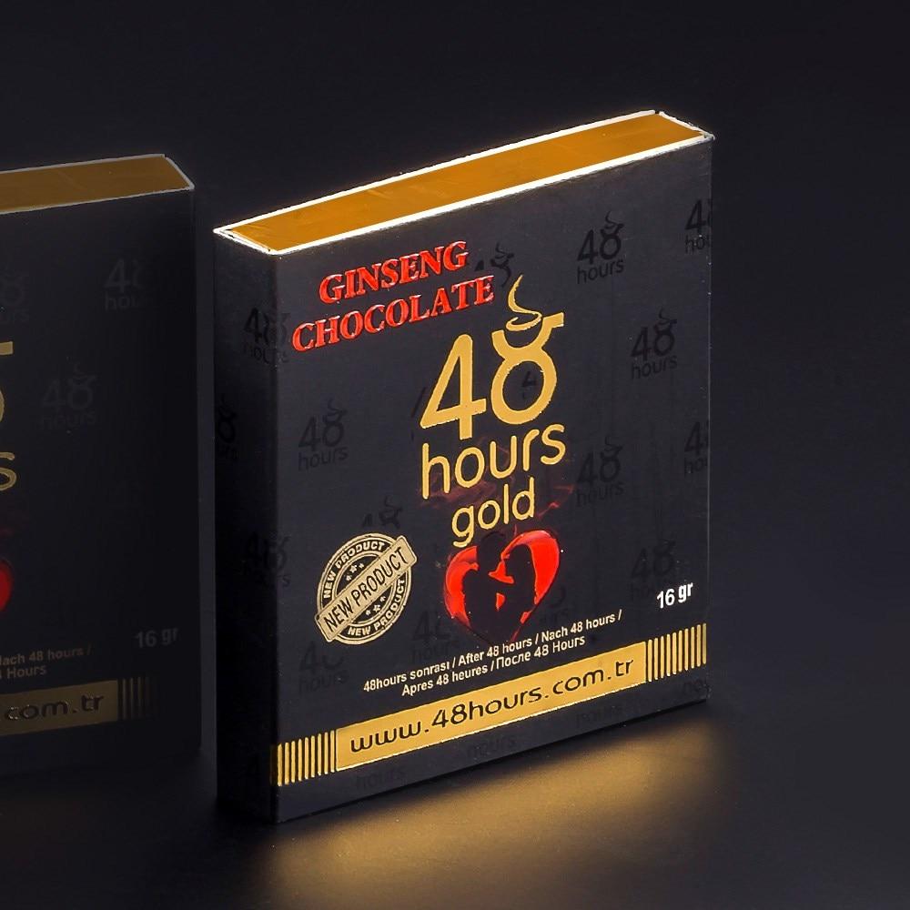 Aphrodisiac Chocolate Ginseng Epimedium Herbal Performance Redound To Sex Toys Plant Roots Retardants 48 Hour Gold 24 G