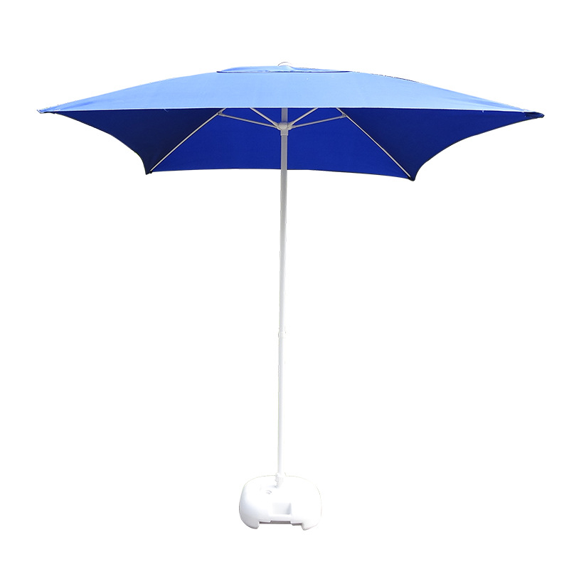 Foreign Trade Factory Outdoor Beach Umbrella Parasol Double Top Casual Patio Umbrella College Style Sun-resistant Outdoor Umbrel