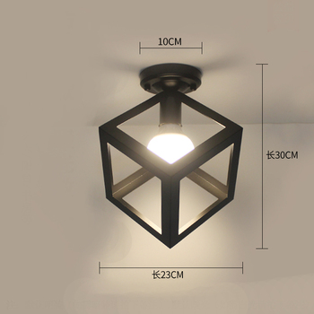 Ceiling light ceiling lamp iron living room lights modern deco salon for dining room hanging led light fixtures surface mounted 27