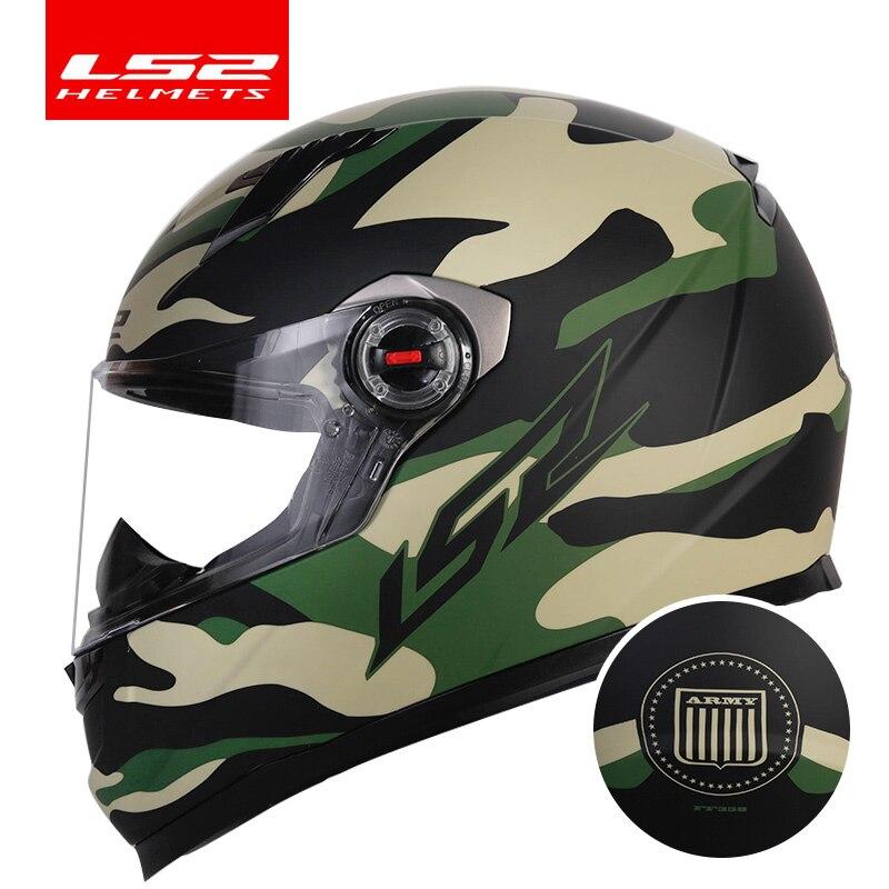 Original LS2 Alex Barros full face motorcycle helmet capacete casque moto LS2 FF358 ECE approved no pump