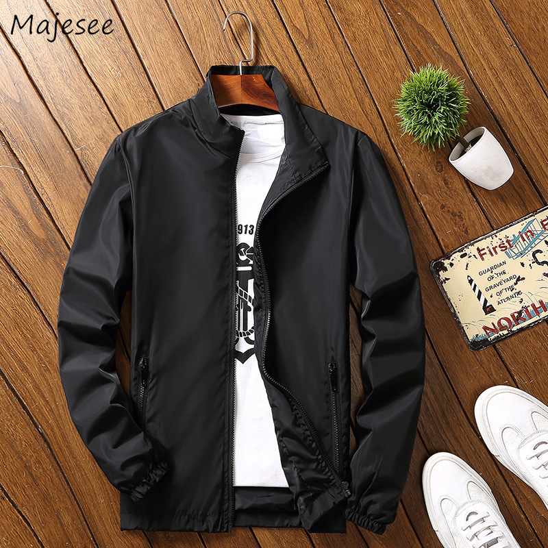 Jacket Men Big Size Windproof Streetwear High Fashion Mens Jackets And Coats Harajuku Korean Style Black Coat Males Hot Sale