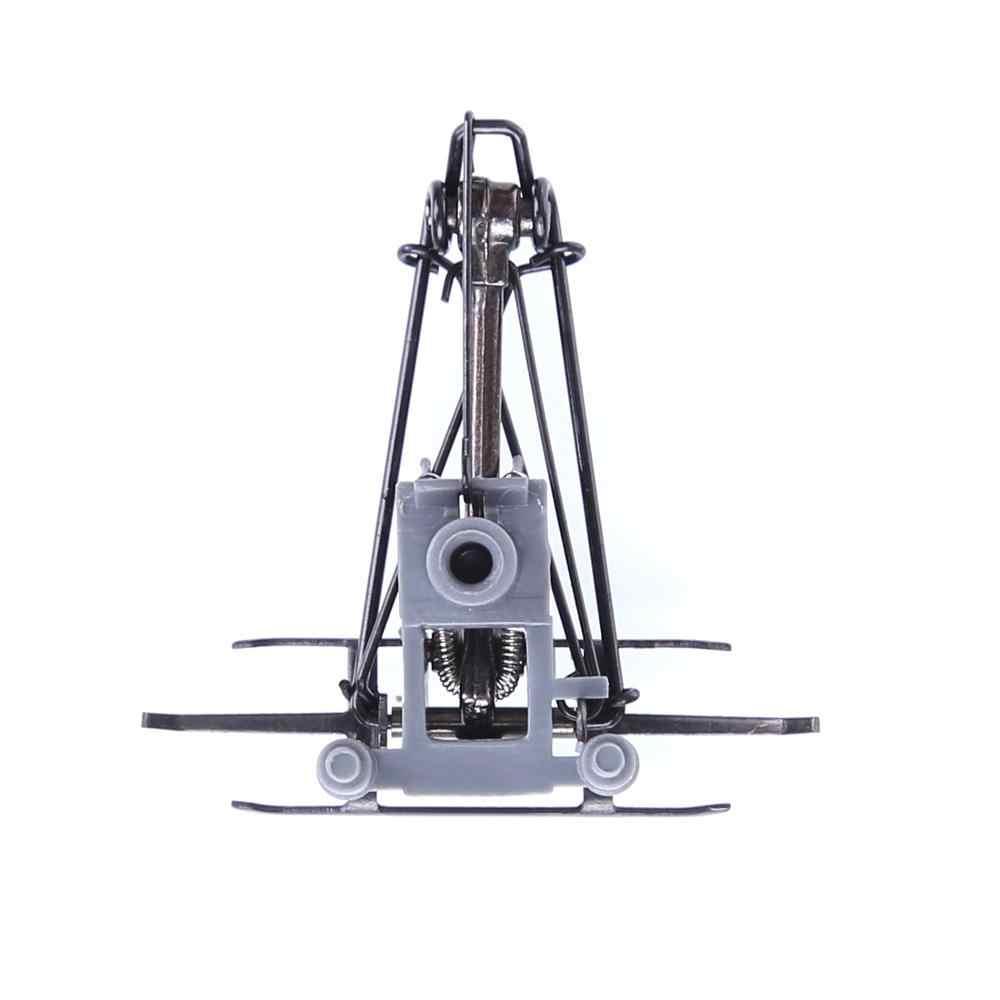 1:87, pantografía de brazo de aleación con arco, pieza de antena de tracción eléctrica para modelo de tren a escala HO, Kits de construcción