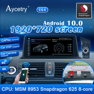 Android 10 Snapdragon 4G 64G IPS Media Radio for BMW 1 Series 120i E87 E81 E82 E88 CCC CIC System stereo Navigation GPS no DVD(China)