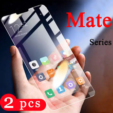 2Pcs for huawei mate 30 20 pro 20X 10 lite 9 tempered glass protective film phone screen protector mate 20 litr glass smartphone