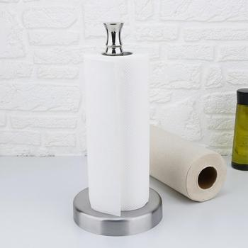 Kuchnia rolki ze stali nierdzewnej uchwyt na ręcznik papierowy łazienka tkanki wc stojak na papier serwetki Rack Home Table akcesoria narzędziowe