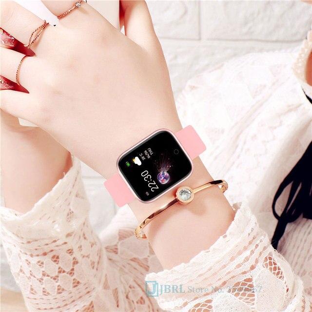 New Silicone Digital Watch Men Sport Women Watches Electronic LED  Ladies Male Wrist Watch For Men Women Clock Female Wristwatch 4