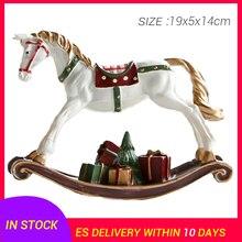 1pcs Ornament Creative Funny Beautiful Hobbyhorse Craft Hobbyhorse Figurines Miniatures
