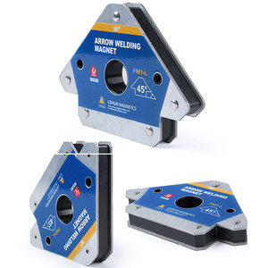 2020 NEW 3''/4''/5''Multi-angle Magnet Welding Holder 45/90/135 Arrow Magnetic Clamp for Welding Magnet 55LBS/110LBS/165LBS(China)