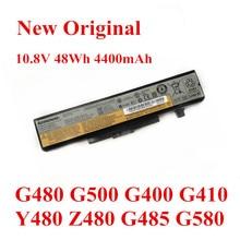 цена на New Original Laptop replacement Li-ion Battery for LENOVO G480 G500 G400 G410 Y480 Z480 G485 G580 L11S6Y01 10.8V 48Wh 4400mAh