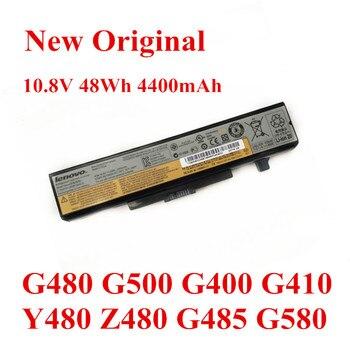 New Original Laptop replacement Li-ion Battery for LENOVO G480 G500 G400 G410 Y480 Z480 G485 G580 L11S6Y01 10.8V 48Wh 4400mAh 4400mah new laptop battery for nec pc vp bp18 op 570 75201 versa s260