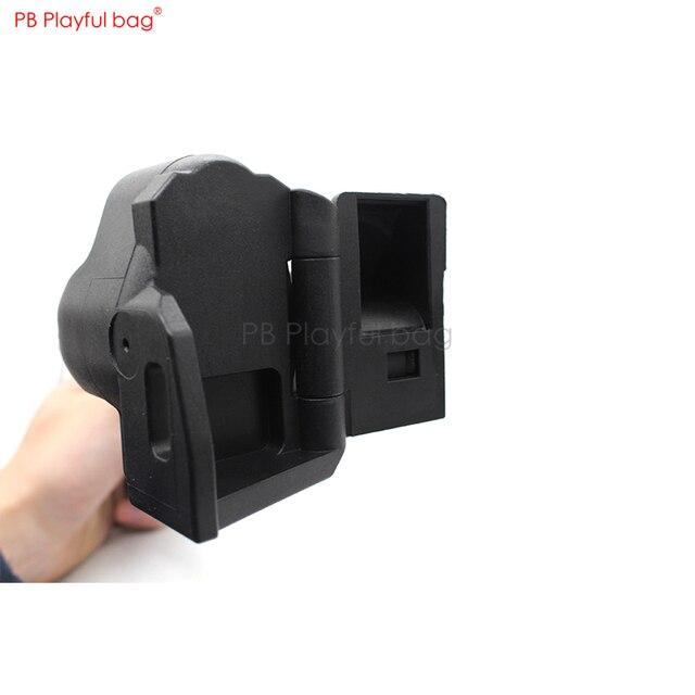 Playful bag Outdoor CS LDT water bullet MP5K / MP5 HQ industrial MP5 nylon B & T original copy folding brace non UMP brace KD85