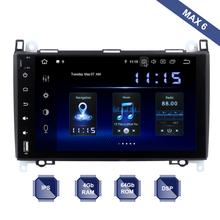 Android 10 2 Din GPS dla mercedes-benz Sprinter B200 Vito Viano W169 W245 Radio samochodowe PX6 DSP IPS HDMI 4Gb + 64Gb RDS WIFI darmowa mapa tanie tanio dasaita Jeden Din 10 2 4*50W System operacyjny Android 10 0 Jpeg gps Radio GPS 1024*600 3 2kg Bluetooth Wbudowany gps Nadajnik fm