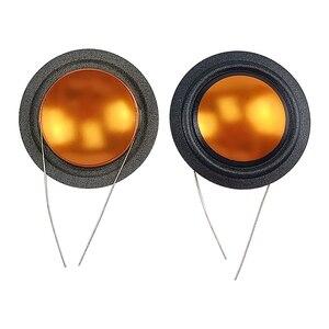 Image 3 - Ghxamp 25,9mm 4ohm Hochtöner schwingspule Seide + Titan Membran Höhen Reparatur Teile Gleichen Seite Runde Kupfer Draht 1 pairs