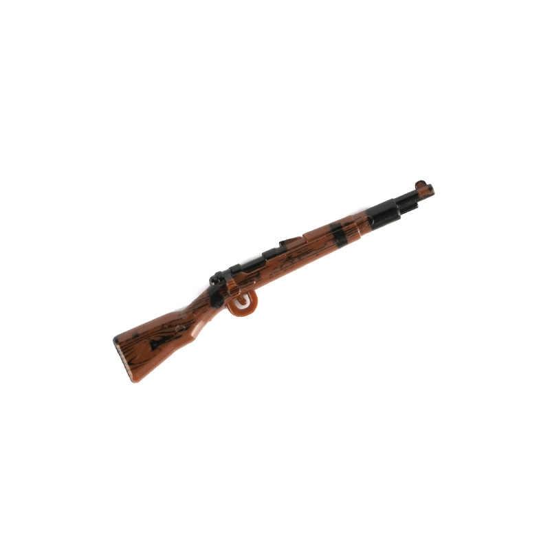 WW2 Militaire Wapens Accessoires Bouwstenen Leger Soldaten Cijfers Duitse Gedrukt Kar98k Guns Wapen Bricks Boys Toys C151