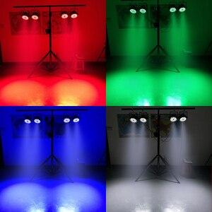 Image 5 - אלומיניום סגסוגת Shell 18x18W RGBWA + UV 6in1 Dj תאורה DMX512 Lmpermeable IP20 KTV דיסקו DJ המפלגה חתונה חג המולד קישוטים