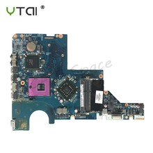 CQ42 Laptop Motherboard For HP G42 CQ42 G62 CQ62 Motherboard DDR3 GL40 605140-001 DA0AX3MB6C2 100% tested intact(China)