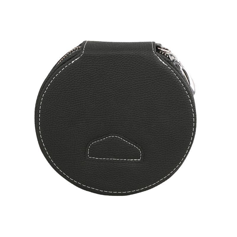 1pc Storage <font><b>Bag</b></font> Leather Fashion Large Capacity Practical DVD Storage Pouch Holder <font><b>CD</b></font> Case <font><b>Organizer</b></font> Clip for Car Auto image