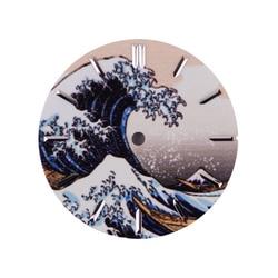 62MAS Orologi Quadrante Letteralmente Pieno Luminoso di Kanagawa Surf Quadrante 28.5 Millimetri di Diametro per Modificato Maschio Orologio da Polso