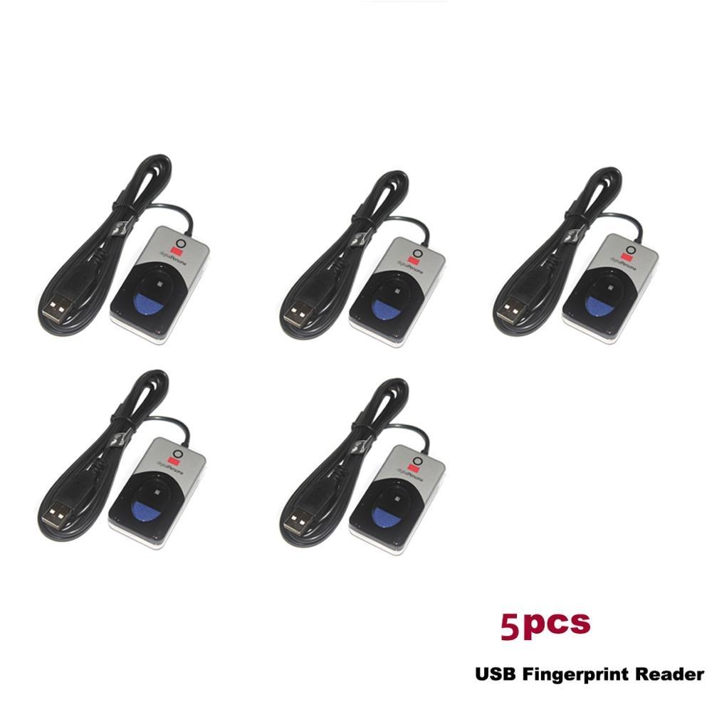 5 шт./лот u на данный момент вы 4500 100% оригинальный DigitalPersona USB биометрический сканер отпечатков пальцев считыватель отпечатков пальцев Беспла...