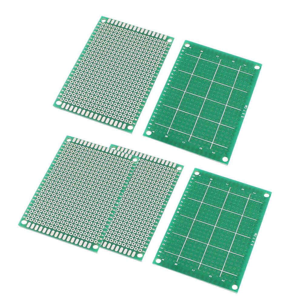 20 ピース/ロット 5 × 7 4 × 6 6 × 8 7 × 9 片面プロトタイプ PCB 5*7 4*6 6*8 7*9 ユニバーサルプリント基板 Arduino のプリント基板テストプレート