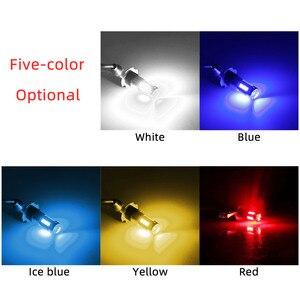 Image 5 - 2Pcs H3 H1 W5W T10 화이트 4014 칩 30 SMD 높은 전원 LED 안개 빛 헤드 라이트 램프 전구 렌즈 DC 12V