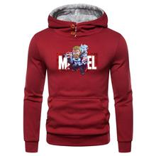 Trendy anime Things Hooded Mens Hoodies and Sweatshirts Oversized for Autumn with Hip Hop Winter Hoodies Men Brand Add wool warm trendy anime things hooded mens hoodies and sweatshirts oversized for autumn with hip hop winter hoodies men brand add wool warm