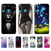 For Huawei P30 Lite Cases Silicone Soft TPU Back Cover For F