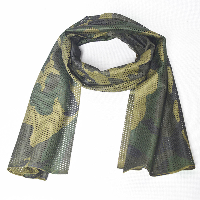 Outdoor Multi-Purpose Camouflage Net Cover Special Forces Protection Tactical Sailor Dance Camouflage Scarf Shading Hanjin Summe
