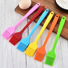 Silicone Pastry Brushes Heat Resistant Barbecue Baking Grilling Oil Basting Brush
