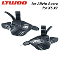 Рычаг переключения скоростей LTWOO A5 3x9  27s  левый велосипедный триггер MTB 3s  совместимый с ALIVIO Altus X5 X7