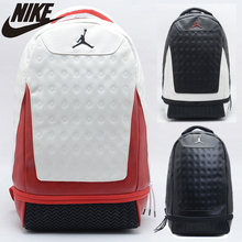 купить Nike Air Jordan Large Capacity Hiking Bag Fashion Training Bag 3 Colors School Backpack по цене 3642.79 рублей