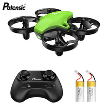 Potensic Mini Drone A20 RC Quadcopter 4CH 6-Axis RC Helicopter Altitude Hold Speed Aircraft Headless Mode Remote Control Toys(China)