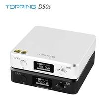 Cobertura d50s es9038q2m * 2 dac bluetooth 5.0 ldac d50 dsd512 32bit/768khz hi res decodificador de alta fidelidade de áudio