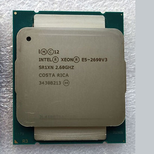Image 2 - Pulled E5 2690V3 Server cpu 2.6G 30M 12Core 24 thread LGA2011 3 Processor